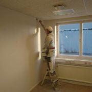 Målning väggar,tak,dörrar och lister