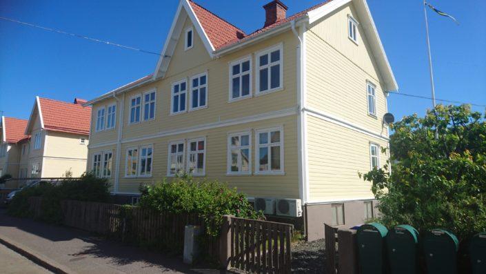 Målning efter projektets slut Huskvarna 2017