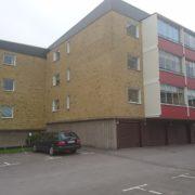 Målning av balkonger, entrétak etc bostadsrättsförening Jönköping Ekhagen 2017