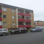 Målning av balkonger, entrétak etc Ekhagen bostadsrättsförening 2017