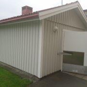 Målning av soprum bostadsrättsförening Ekhagen Jönköping 2017