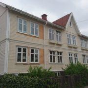 Målning av Hus innan projektets start