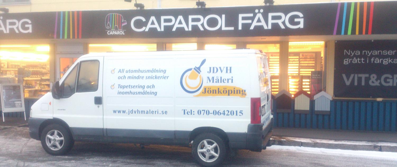 Handlar material på Caparol Färg i Jönköping