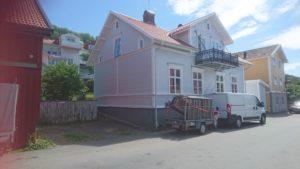 Bild 2 efter klart projekt . Målning av hus i Gränna, BRF
