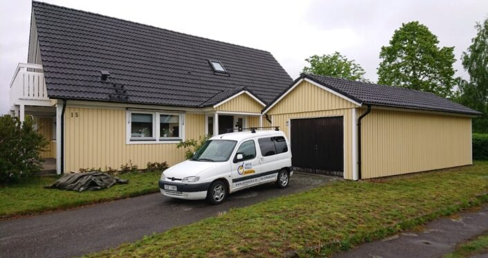 JDVH Måleri Fasadmålning Ljungarum Projekt klart_2019