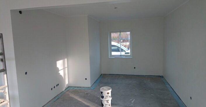 Nybygge målning Inomhus