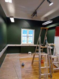 Efterbild målning kontor_kök Digtory