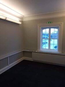 Efterbild målning av kontor - Digtory övervåning