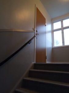 Efterbild målning av trapphus