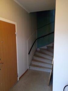 Förebild målning av trapphus